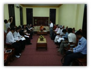 Cambodia Inter-religious Council Religions for Peace Cambodia Quarterly Report and Plan for 2016